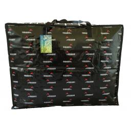 Large 65 litre Storage bag. Black Dachshunds in Berets pattern.