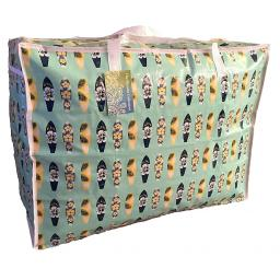Large 65 litre Storage bag. Green Hawaiian Surf boards pattern.